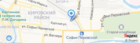 Люкс на карте Астрахани