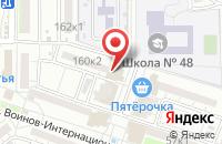 Схема проезда до компании Клевое место в Астрахани