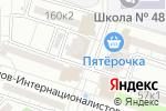 Схема проезда до компании ПервоПечатник в Астрахани