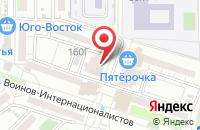 Схема проезда до компании АСТРА ТРЕЙД в Астрахани