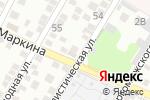 Схема проезда до компании Мандарин в Астрахани
