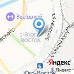 Огонек на карте Астрахани