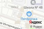 Схема проезда до компании Ева в Астрахани