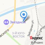 Домовой на карте Астрахани