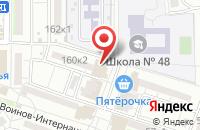 Схема проезда до компании Ксения в Астрахани