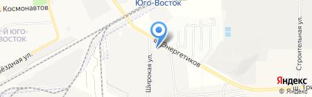 Пожарный сервис на карте Астраханской области