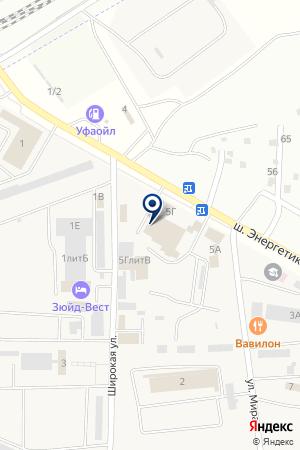 Пожарный сервис Плюс на карте Астраханской области