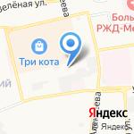 Радмир на карте Астрахани