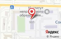 Схема проезда до компании Технический колледж в Астрахани