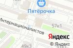 Схема проезда до компании Городская поликлиника №1 в Астрахани