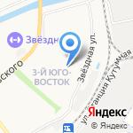 Крестьянка на карте Астрахани