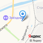 Городская поликлиника №1 на карте Астрахани
