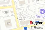 Схема проезда до компании Инструмент-сервис в Астрахани