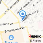 АВТОМАН на карте Астрахани