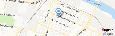 Детский сад №52 на карте Астрахани