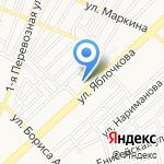 Центр дополнительного образования №2 на карте Астрахани
