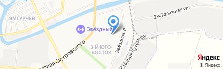 УФМС на карте Астрахани