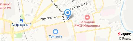 АВТОЭЛЬ на карте Астрахани