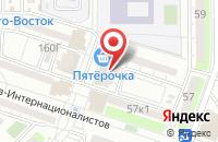 Схема проезда до компании Технопромсбыт в Астрахани