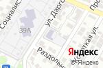 Схема проезда до компании Детская школа искусств №11 в Астрахани