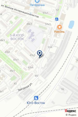 ГАРАЖНЫЙ КООПЕРАТИВ РОССИЯ 28 А на карте Астрахани