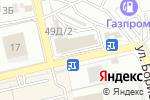 Схема проезда до компании Шанс в Астрахани