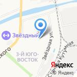 АРГУС на карте Астрахани
