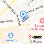 Установочный центр на карте Астрахани