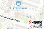 Схема проезда до компании Байконур в Астрахани