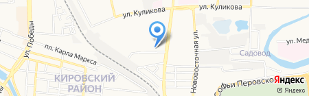 Центральный диспетчерский пункт на карте Астрахани