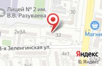Схема проезда до компании Управляющая Компания  в Астрахани