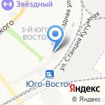 Сплав на карте Астрахани