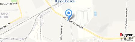 Рик-Маркет на карте Астраханской области