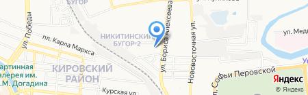 Жемчужина на карте Астрахани