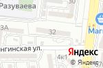 Схема проезда до компании Майя в Астрахани