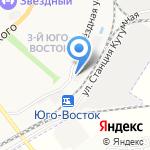 Россия на карте Астрахани