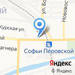 Студенческий рай на карте Астрахани