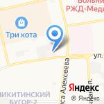 Детская городская поликлиника №3 на карте Астрахани