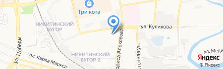 Банкомат ФКБ Петрокоммерц на карте Астрахани