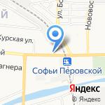Магазин автозапчастей для Chevrolet Niva на карте Астрахани