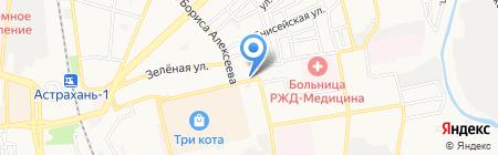 Магазин строительного крепежа на карте Астрахани