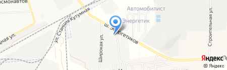 Деловые Линии на карте Астраханской области