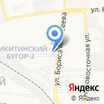АБВГДэЯ на карте Астрахани