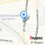 Румба на карте Астрахани