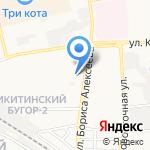 Милена на карте Астрахани