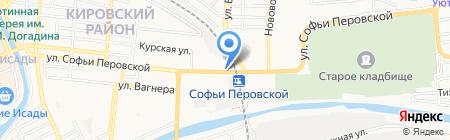 Ёлки-Палки на карте Астрахани