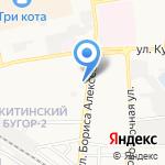 Парламент на карте Астрахани
