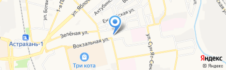 CarWash на карте Астрахани