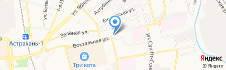 Pink Car на карте Астрахани