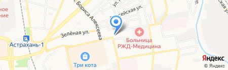 Горбушка.RUS на карте Астрахани